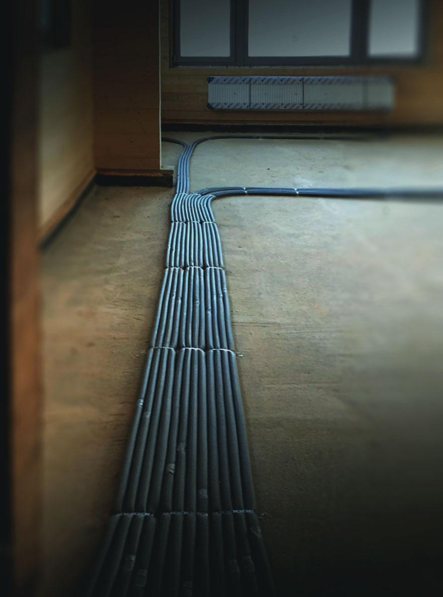 Водопровод, отопление и канализация коттеджа под ключ